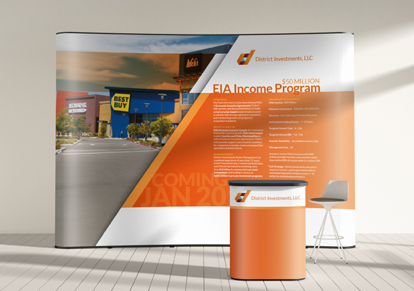 Trade Show Booth Graphic Design : Tradeshow booth design with purpose